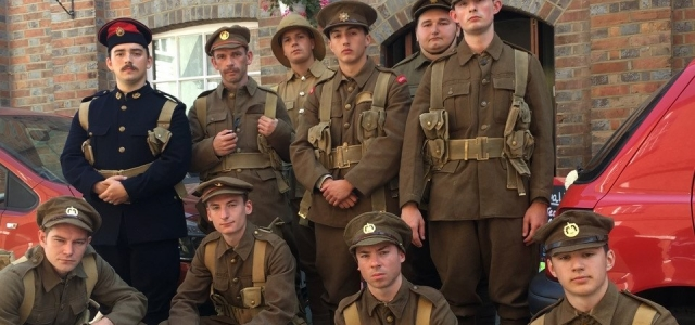 Live Public Memorial for 10 Wimborne Soldiers